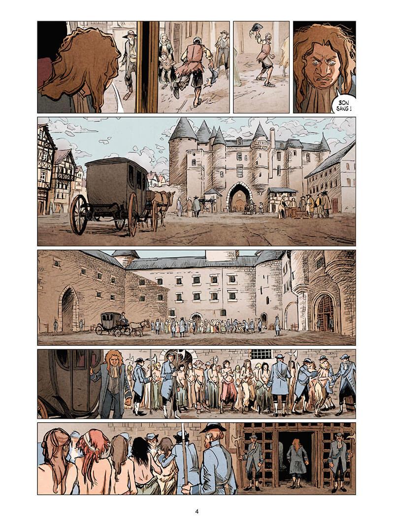 La Cour des Miracles, planche du tome 2 © Quadrants / Maffre / Piatzszek