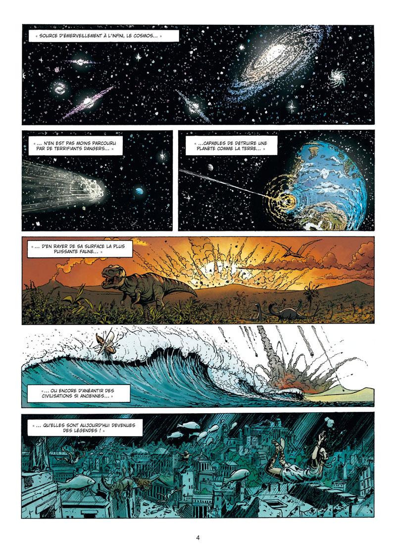 La grande guerre des mondes, planche du tome 1 © Soleil / Nolane / Vladetic / Folny