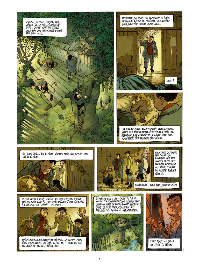 La perspective Luigi, planche de l'album © Casterman / Cuvillier / Hautière / François