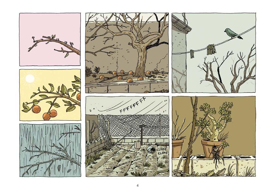 La Maison, planche de l'album © Delcourt / Roca