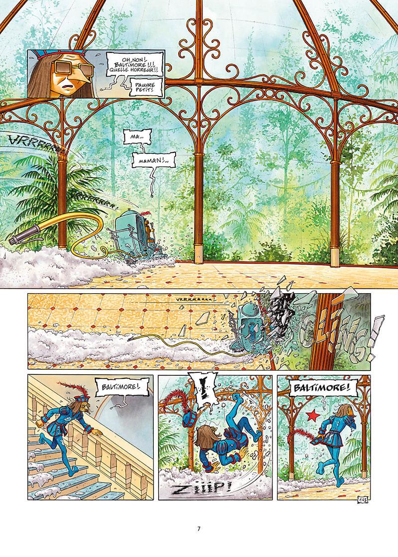 La Nef des Fous, planche du tome 10 © Delcourt / Turf