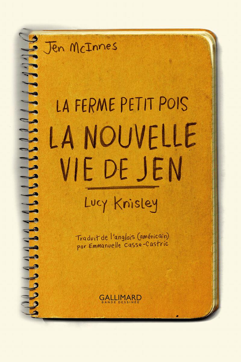 La nouvelle vie de Jen, planche de l'album © Gallimard / Knisley
