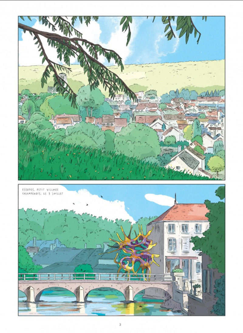 La part merveilleuse, planche du tome 1 © Dargaud / Mulot / Ruppert