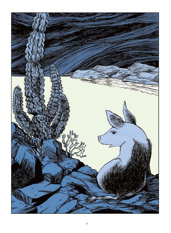 La Perle, planche de l'album © Futuropolis / Cornette / Steinbeck