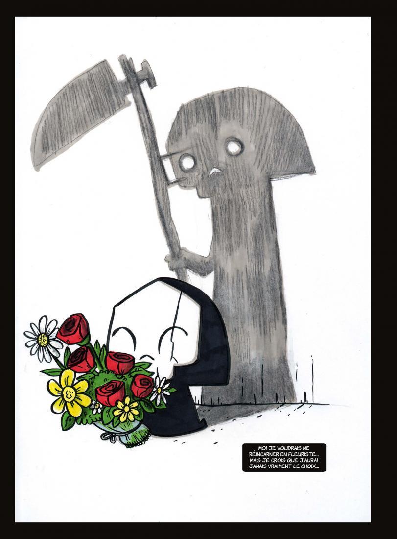 La Petite mort T1.5  © Delcourt / Mourier