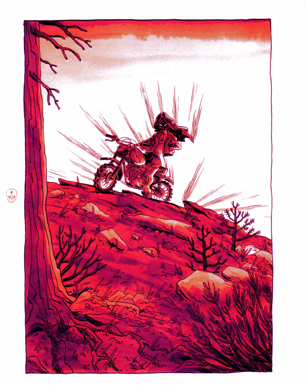 La sorcière en haut de la montagne, planche de l'album © Les Aventuriers de l'Etrange / Ryberg