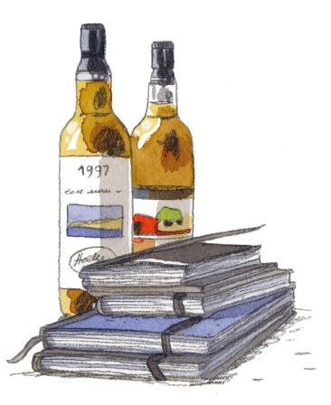Lady Whisky, illustration de l'album © Casterman / Alessandra