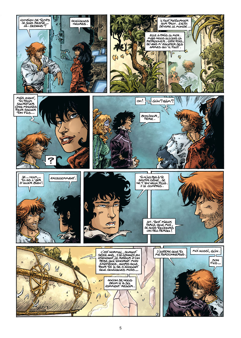 Lanfeust Odyssey, planche du tome 8 © Soleil / Tarquin / Arleston / Lise