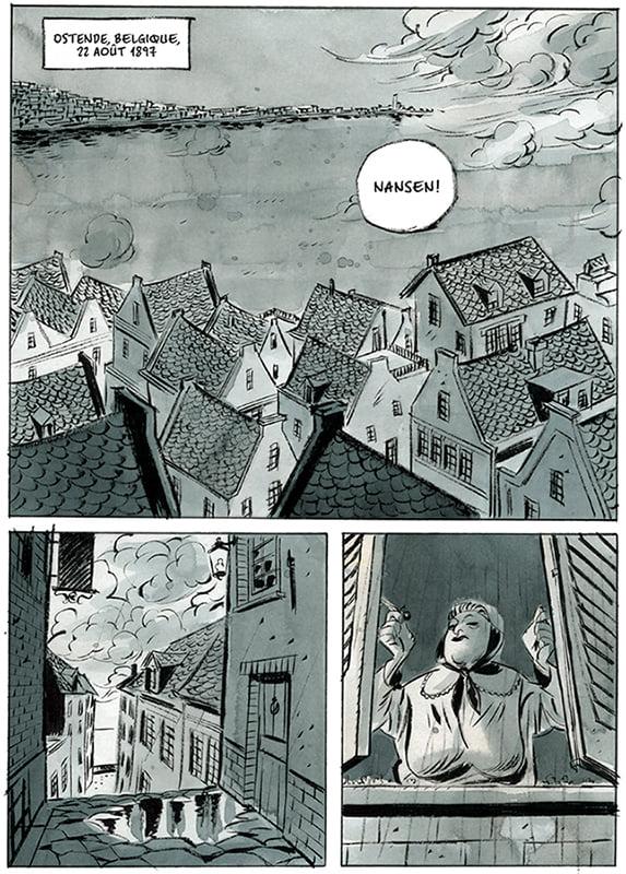La Belgica, planche du tome 1 © Anspach Editions / Bruno