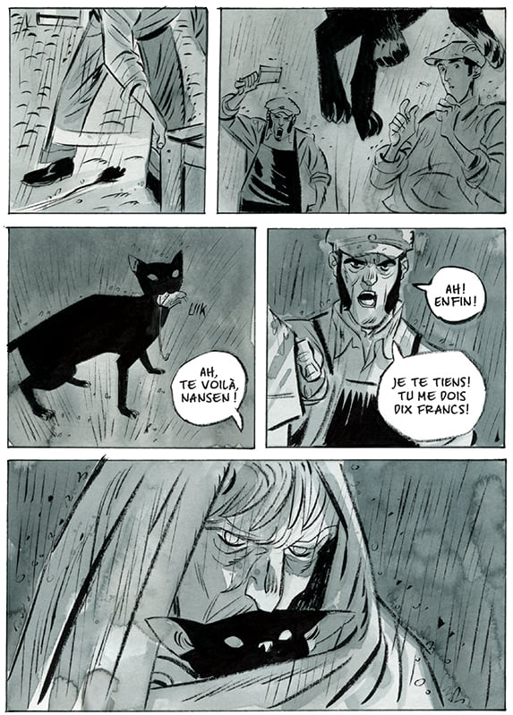 Le Belgica, planche du tome 1 © Anspach Editions / Bruno