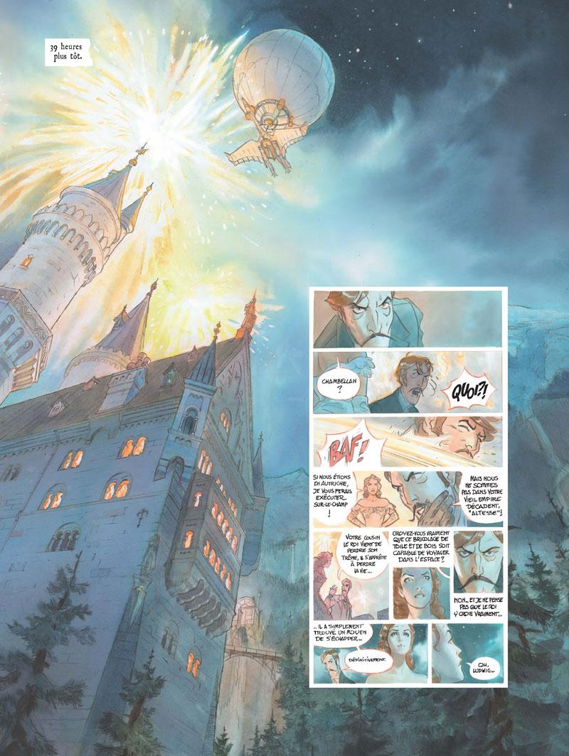 le château des étoiles, planche du tome 2 © Rue de Sèvres / Alice