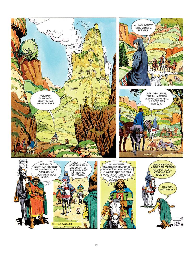 Le Cid, planche de l'album © Les Editions du Long Bec / Palacios
