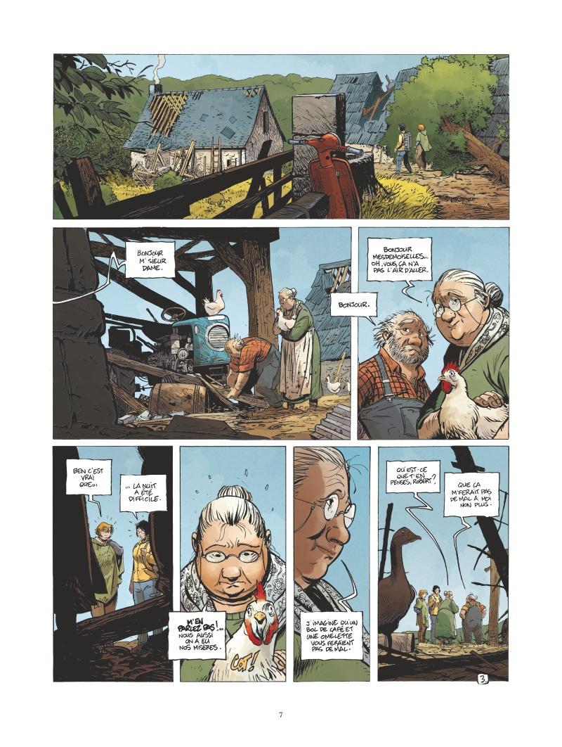 Le Grand Mort, planche du tome 6 © Vents d'Ouest / Mallié / Loisel / Djian / Lapierre