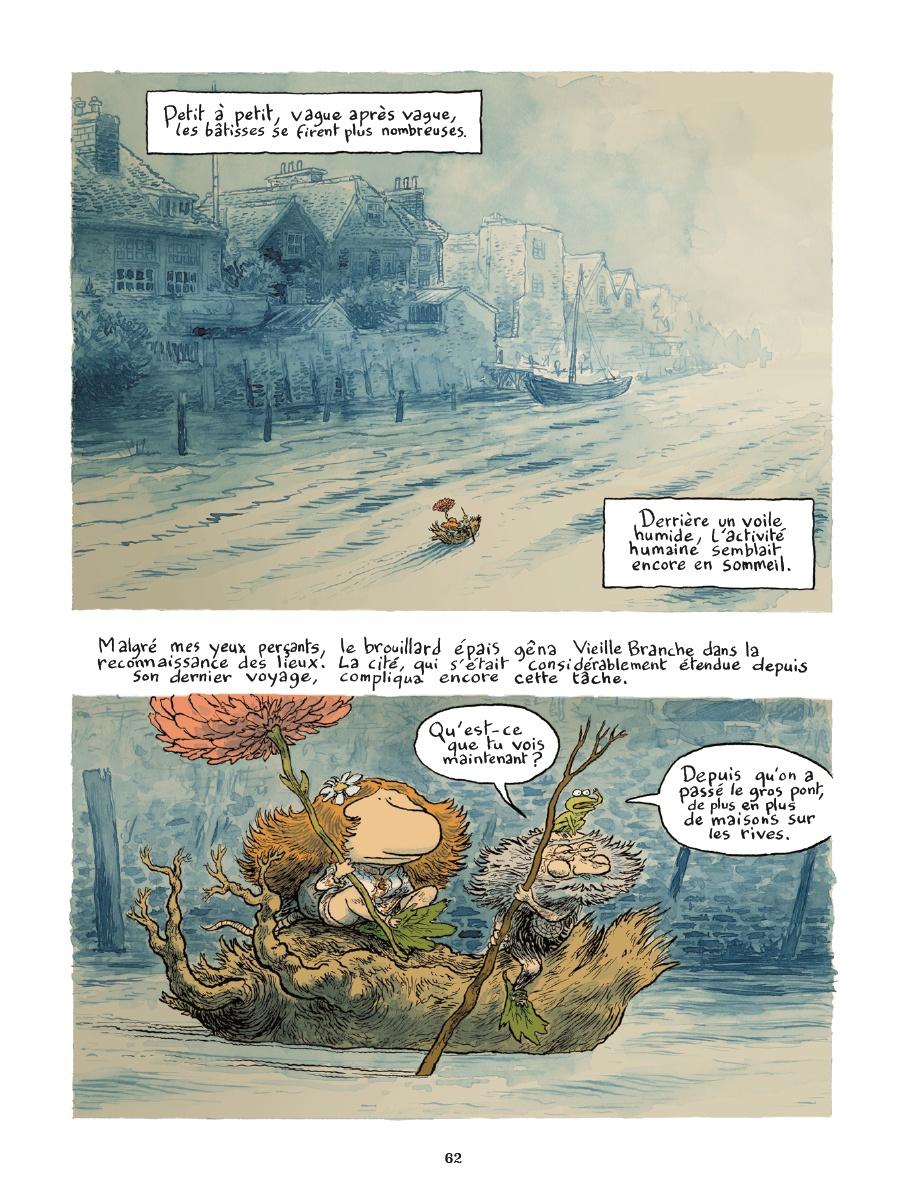 Le grand voyage de Rameau, planche de l'album © Soleil / Phicil