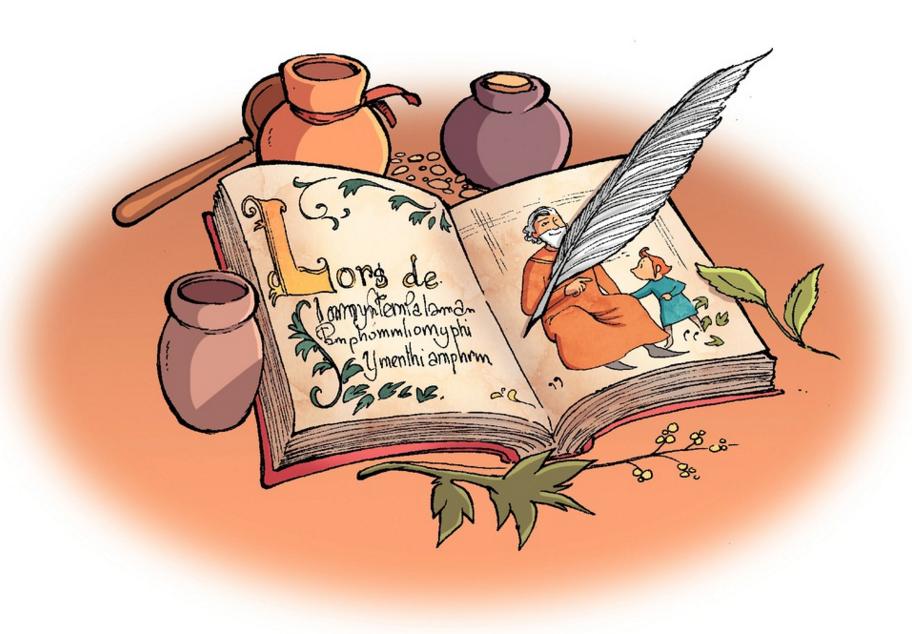 Le Livre de Piik, planche du tome 2 © Bamboo / Cecile / Cazenove / Cordurié
