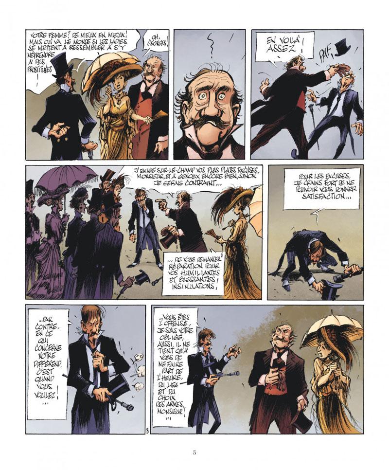 le magicien de Whitechapel, planche du tome 2 © Dargaud / Benn