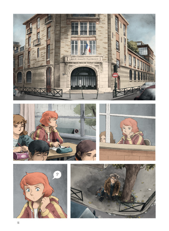 Le Mangeur d'Espoir, planche de l'album © Gallimard BD / Friha