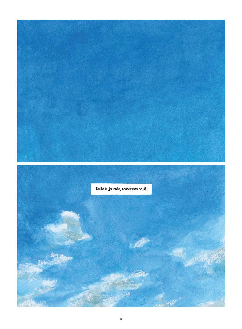 Le Rapport W, planche de l'album © Daniel Maghen  / Nocq