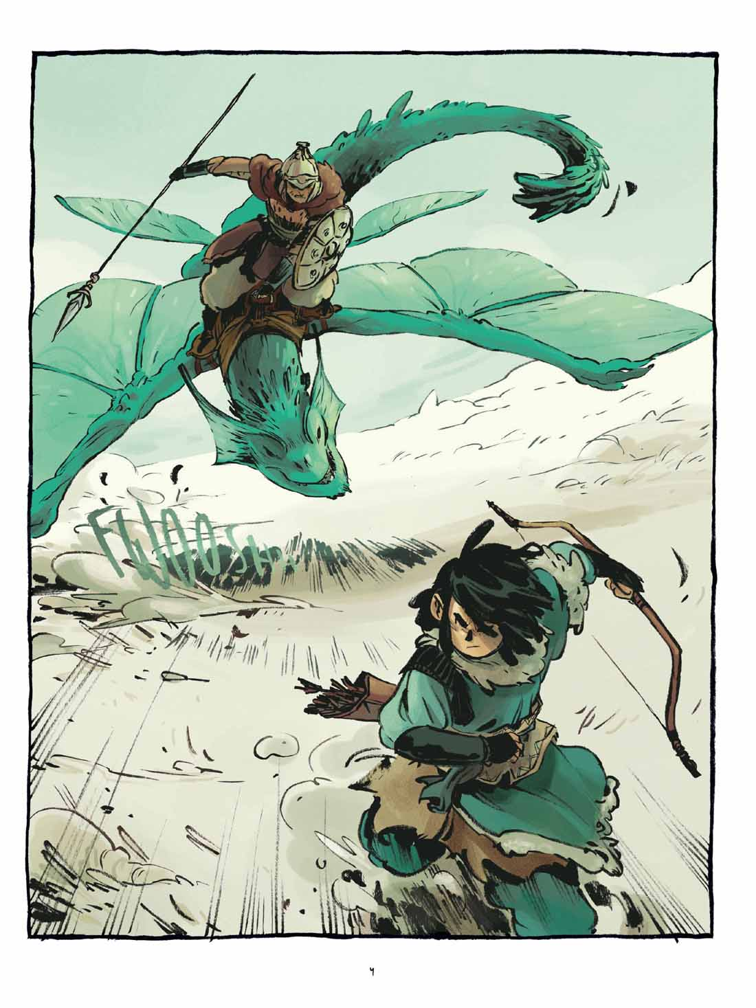 Le sceau du dragon, planche du tome 1 © Les Aventuriers de l'Etrange / Vicente / Gutierrez
