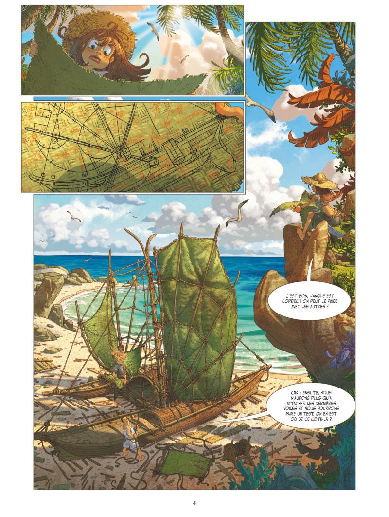 Le Voyage Extraordinaire, planche du tome 6 © Vents d'Ouest / Camboni / Filippi / Yvan