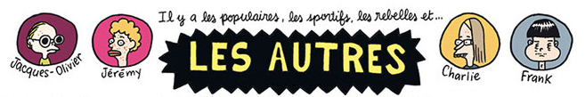 Les Autres, illustrationde l'album © Delcourt / Iris