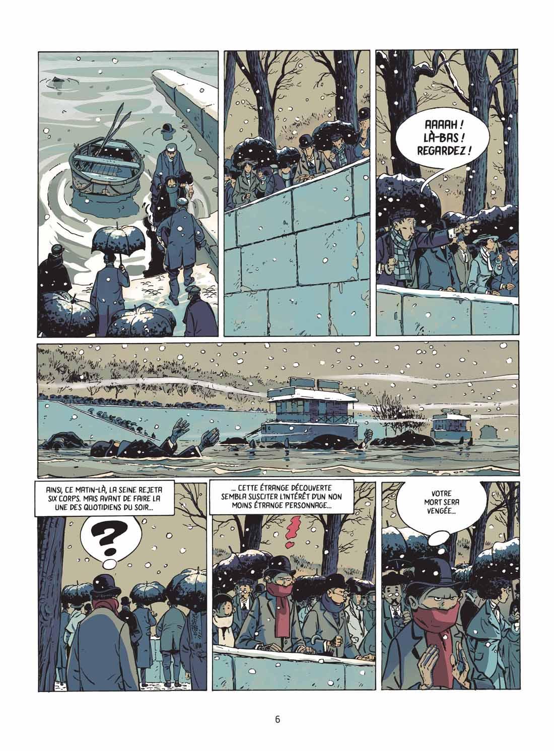 Les aventures de Victor Billetdoux, planche du tome 3 © Les Aventuriers de l'Etrange / Wininger / Benzcedi