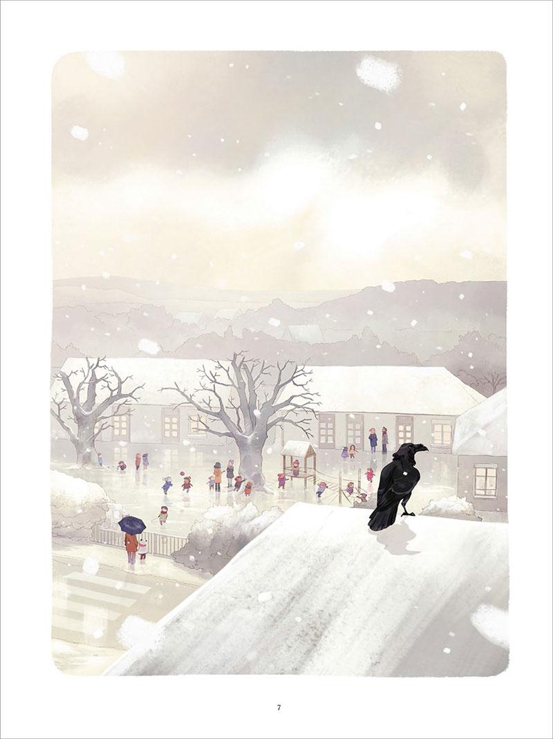 Les carnets de Cerise, planche du tome 5 © Soleil / Neyret / Chamblain