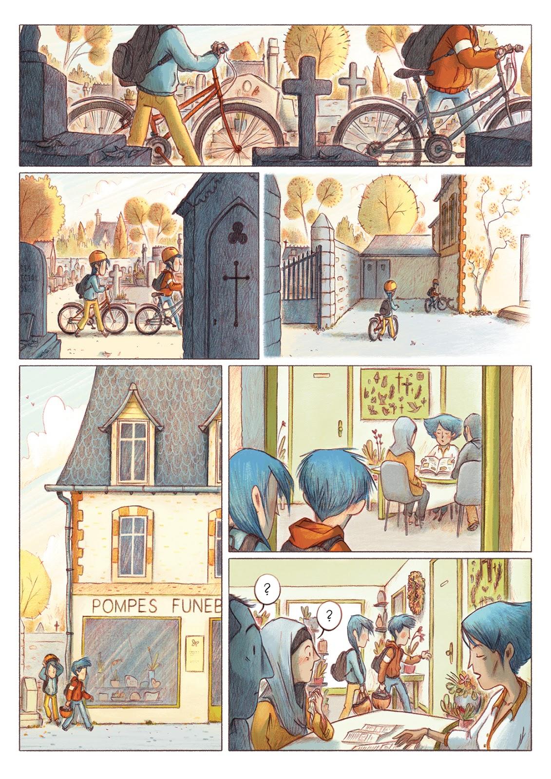 Les Croques, planche du tome 1 © La Gouttiere / Mazé