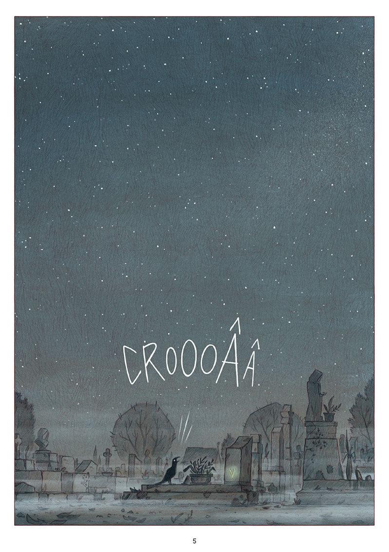 Les Croques, planche du tome 2 © Editions De La Gouttiere / Mazé