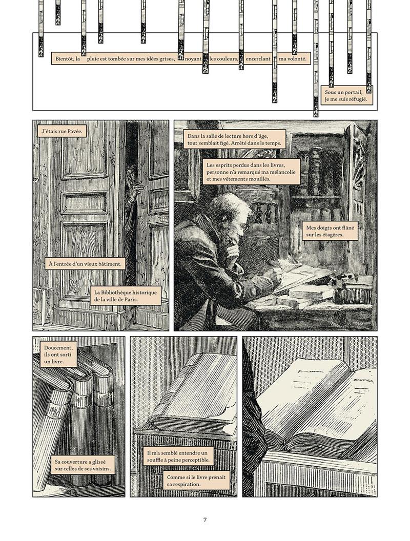 Les Damnés de la Commune, planche du tome 1 © Delcourt / Meyssan