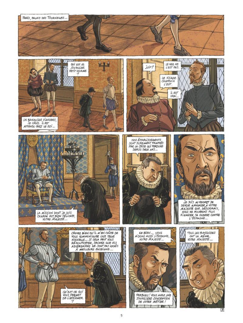 Les Guerriers de Dieu, planche du tome 2 © Glénat / Wachs / Richelle / Osuch