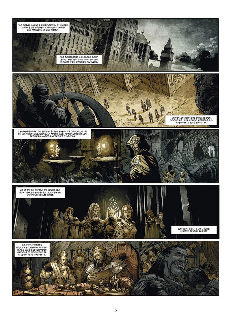 Les Maîtres Inquisiteurs, planche du tome 6 © Soleil / Martino / Istin