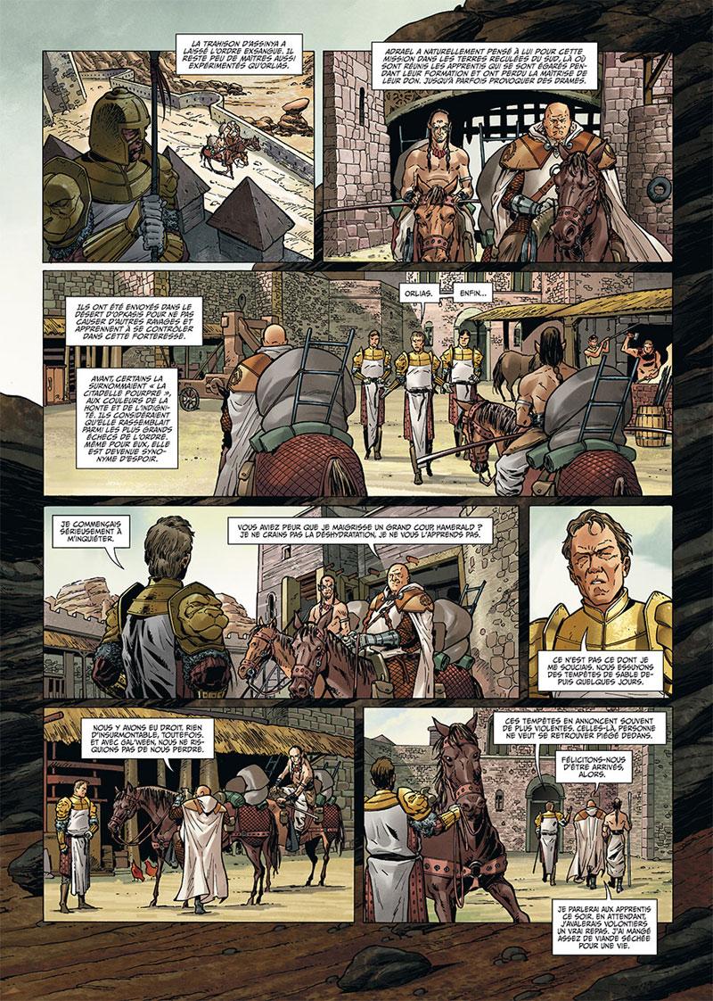 Les Maîtres Inquisiteurs, planche du tome 7 © Soleil / Cuneo / Cordurie