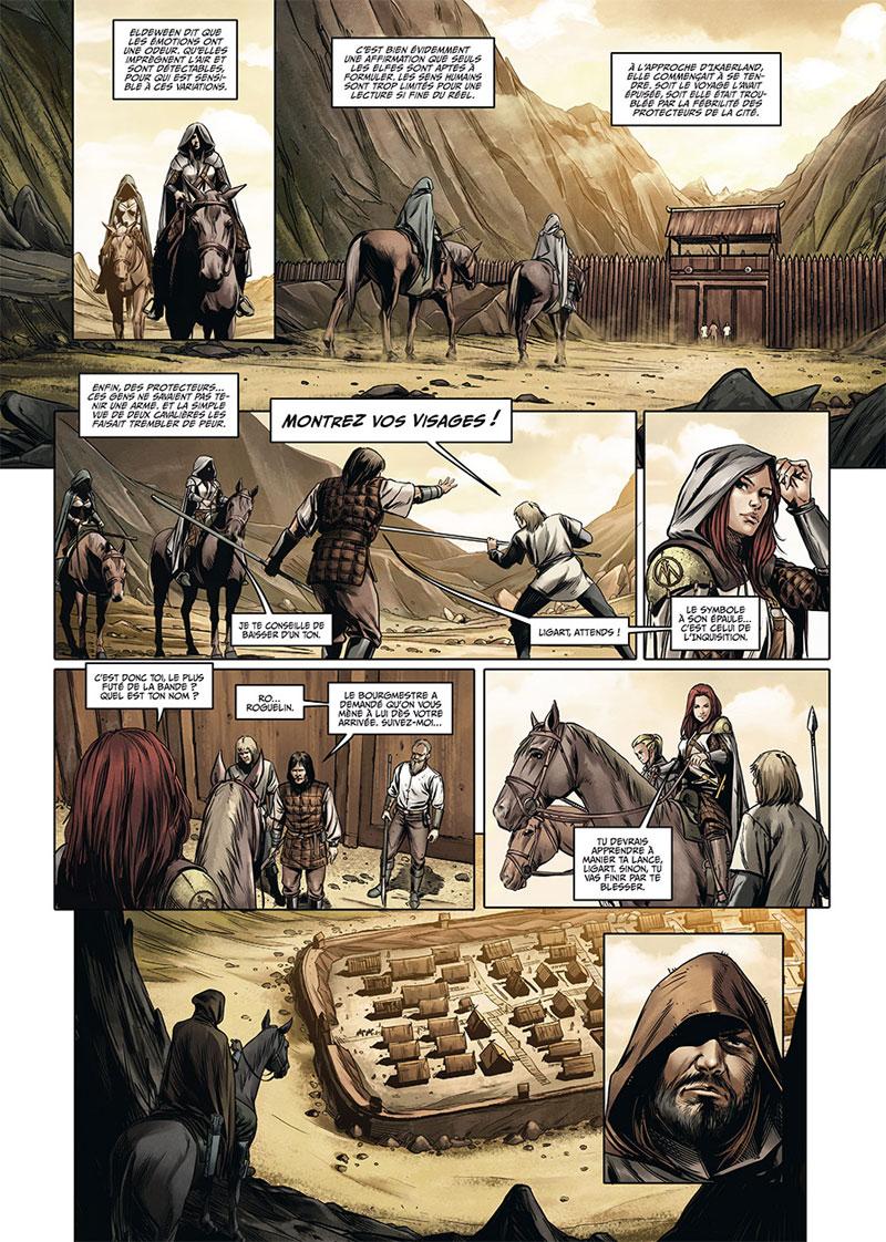 Les Maîtres Inquisiteurs, planche du tome 9 © Soleil / Bonetti / Cordurie