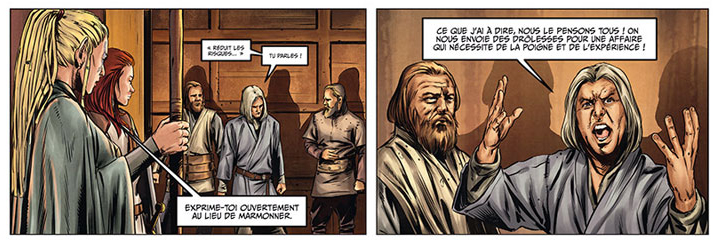 Les Maîtres Inquisiteurs, cases du tome 8 © Soleil / Bonetti / Cordurie