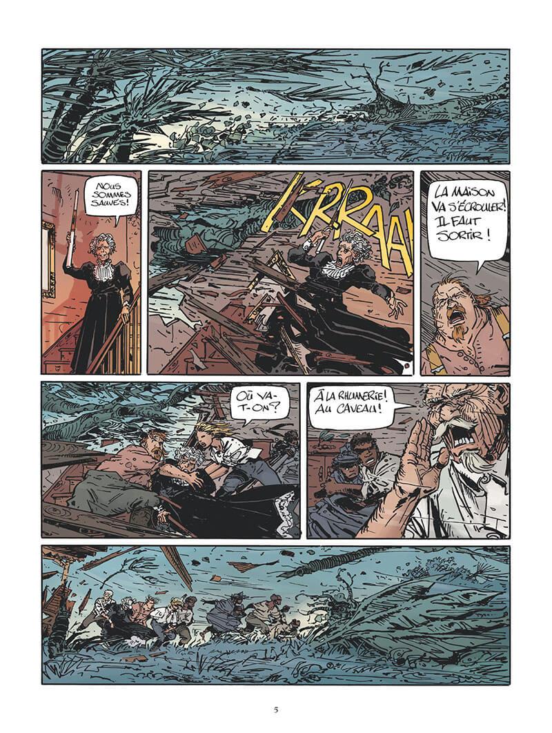 Les maîtres des îles, planche du tome 2 © Glénat / Mezzomo / Piatzszek / Labriet