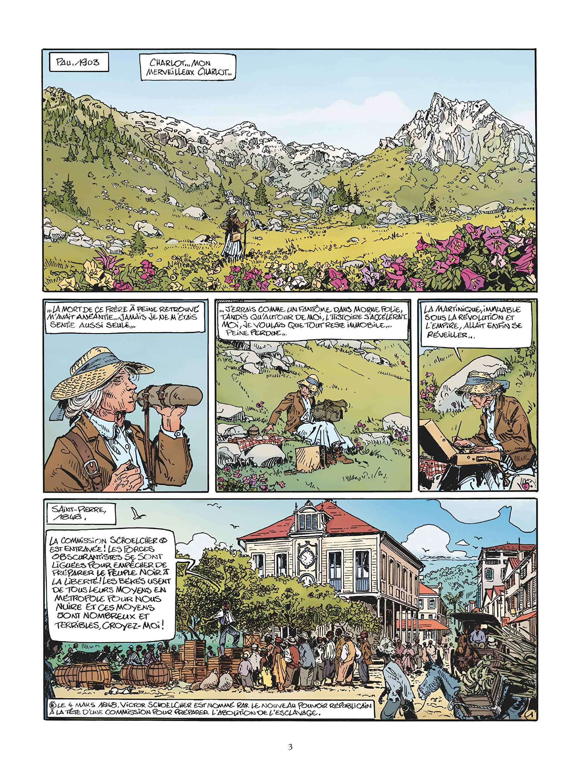 Les maîtres des îles, planche du tome 3 © Glénat / Mezzomo / Piatzszek / Labriet