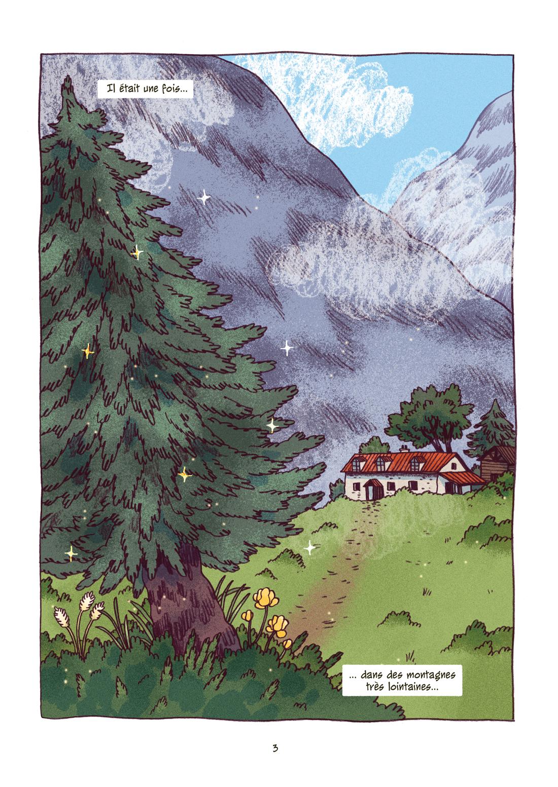 Les Merveilleux Contes de Grimm, planche de l'album © Les Aventuriers de l'Etrange / Tamarit / Grimm