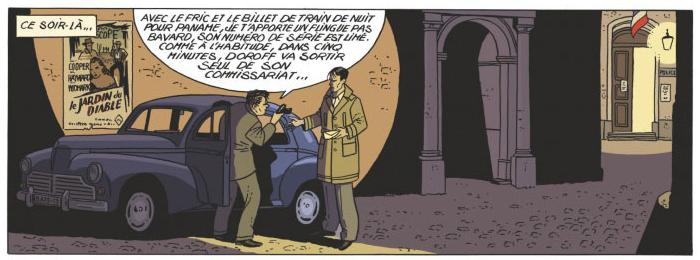 Les miroirs du crime, planche du tome 1 © Glénat / Hé / Simsolo