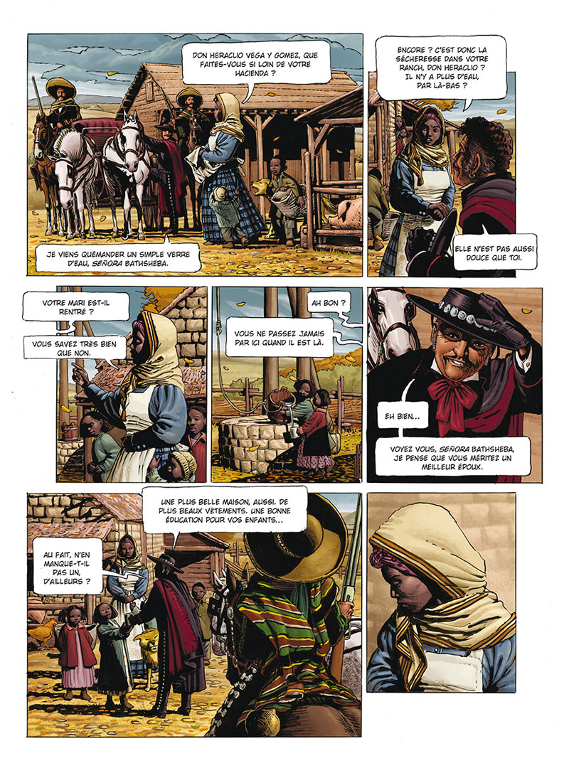 Marshal Bass, planch du tome 3 © Delcourt / Ordey / Macan / Vitkovic