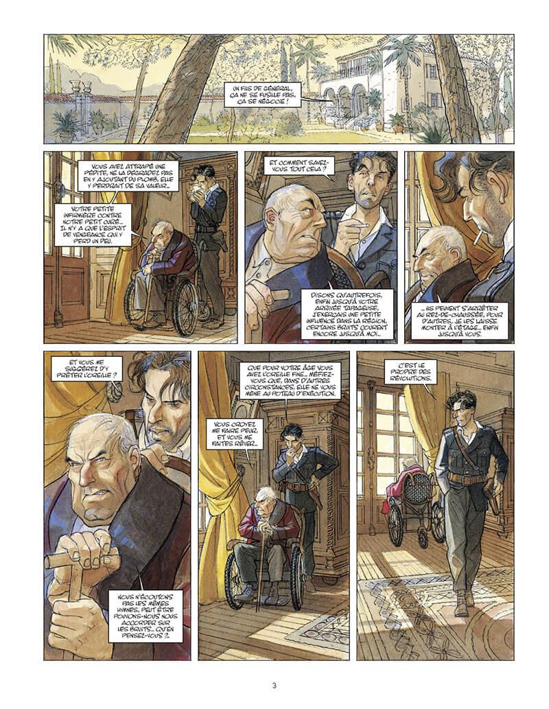 Mattéo, planche du tome 5 © Futuropolis / Gibrat