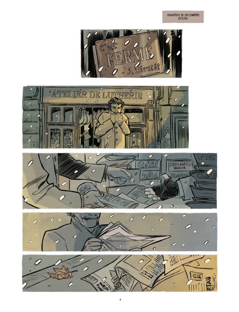 Mon traître, planche du tome 1 © Rue de Sèvres / Alary / Chalandon
