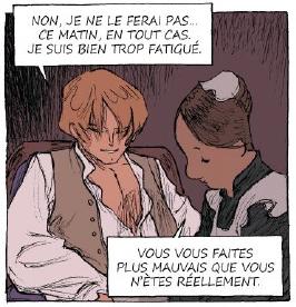 Monsieur désire?, case de l'album © Glénat / Augustin / Hubert
