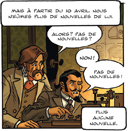 Monster Club, case du tome 2 © Delcourt / Faw / Masbou / Puthier