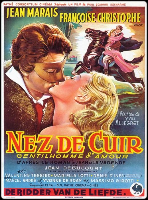 Nez-de-cuir, affiche du film d'Yves Allégret
