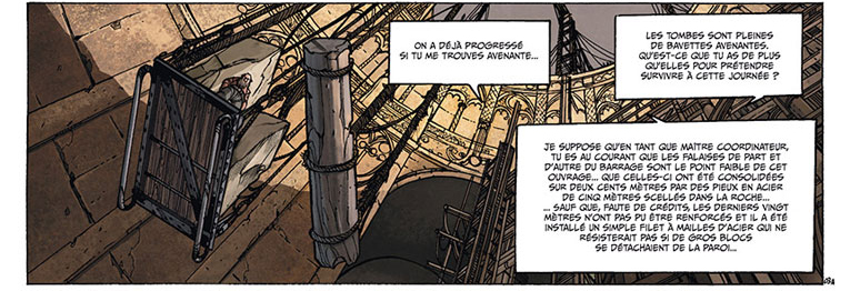 Nains, strip du tome 7 © Soleil / Créty / Jarry / Digikore Studios