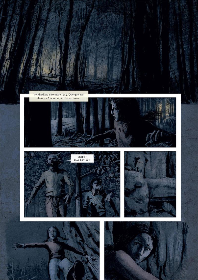 Nobody, Saison 2, planche du tome 1 © Soleil / De Metter