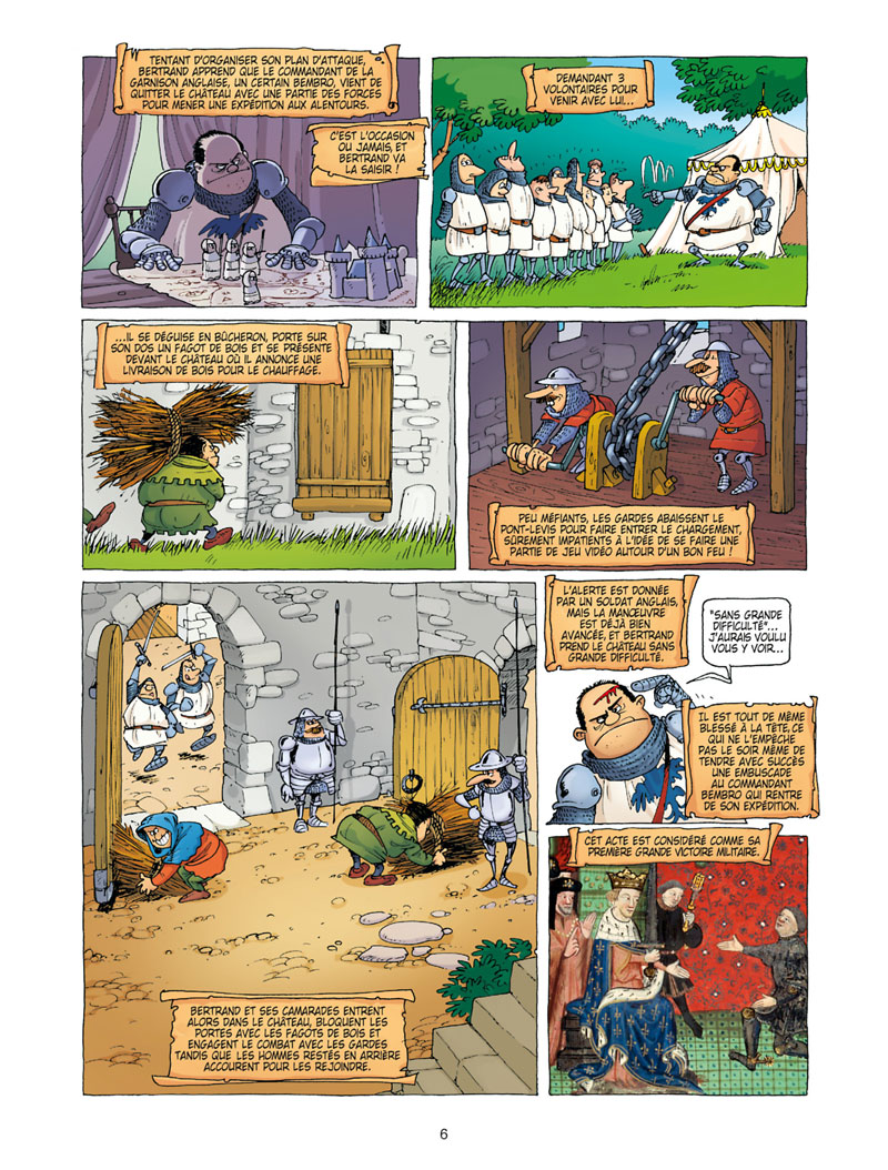 Nota Bene, planche du tome 1 © Soleil / Paty / Brillaud / Mariolle / Odone