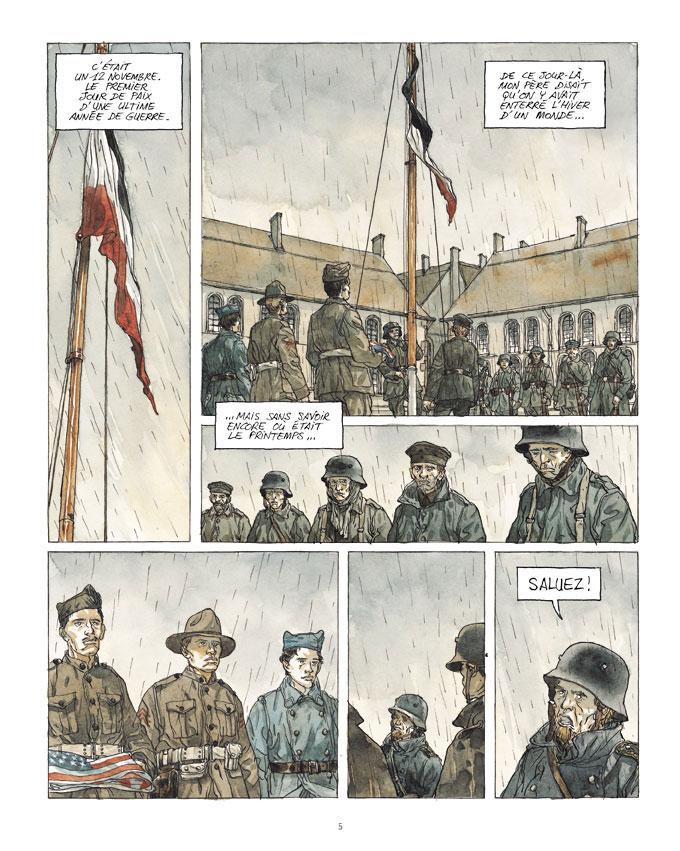 Notre Amérique, planche du tome 1 © Futuropolis / Maël / Kriss