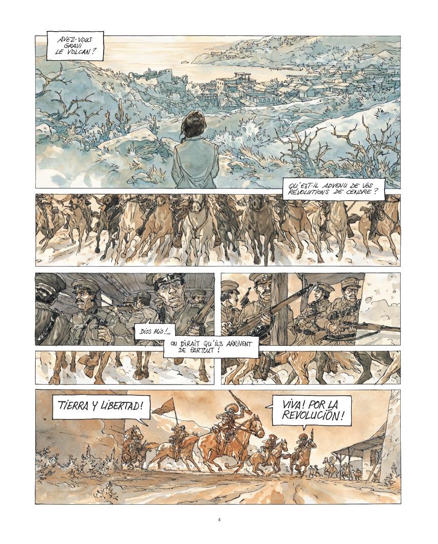 Notre Amérique, planche du tome 2 © Futuropolis / Maël / Kriss